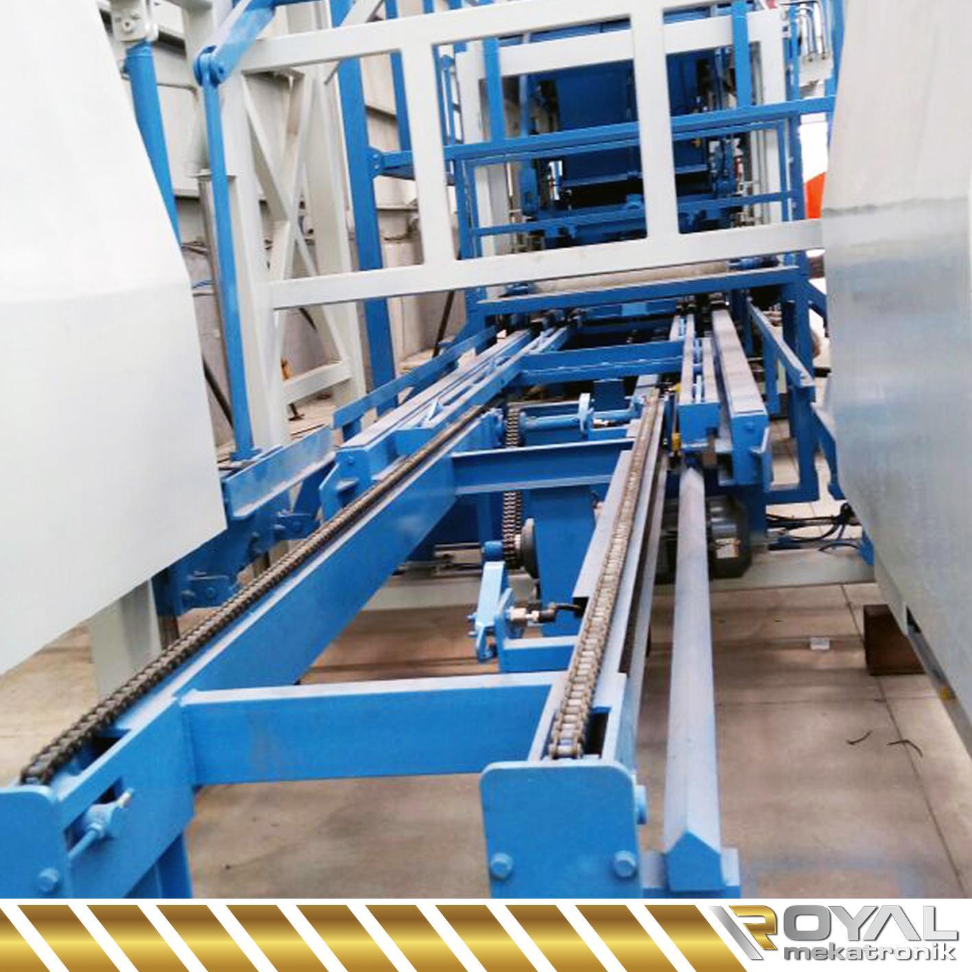 ROYAL OPTIMUS CONCRETE BLOCK MACHINES